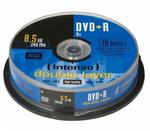 Intenso DVD+R Rohlinge Double Layer 8,5GB 10er Spindel 8x für 8,49 Euro
