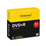 Intenso DVD+R Rohlinge Double Layer 8,5GB 5er-Jewelcase 8x für 5,19 Euro