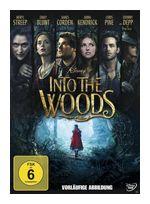 Into the Woods (DVD) für 8,99 Euro