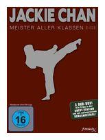 Jackie Chan Meister-Pack: Meister aller Klassen 1-3 DVD-Box (DVD) für 12,99 Euro