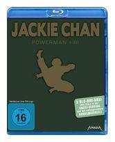 Jackie Chan - Powerman 1 - 3 Bluray Box (BLU-RAY) für 14,99 Euro
