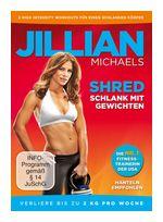 Jillian Michaels - Shred - Schlank mit Gewichten (DVD) für 12,99 Euro