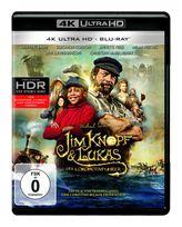 Jim Knopf und Lukas der Lokomotivführer - 2 Disc Bluray (4K Ultra HD BLU-RAY + BLU-RAY) für 26,99 Euro