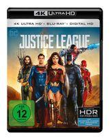 Justice League (4K Ultra HD BLU-RAY) für 26,99 Euro