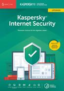 Kaspersky Internet Security 5 Geräte Upgrade (Code in a Box) (PC) für 59,99 Euro
