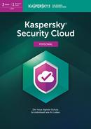 Kaspersky Security Cloud Personal Edition 3 Geräte (Code in a Box) (PC) für 59,99 Euro