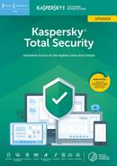 Kaspersky Total Security Upgrade (Code in a Box) (PC) für 46,99 Euro