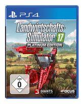 Landwirtschafts-Simulator 17 Platinum Edition (PlayStation 4) für 39,99 Euro