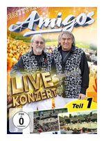 Live Konzert-Teil 1 (Die Amigos) für 9,99 Euro