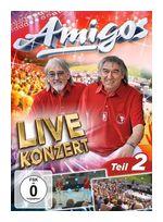 Live Konzert-Teil 2 (Die Amigos) für 9,99 Euro