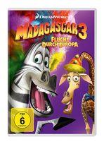 Madagascar 3 - Flucht durch Europa (DVD) für 7,99 Euro