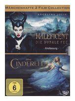 Maleficent - Die Dunkle Fee, Cinderella DVD-Box (DVD) für 13,99 Euro