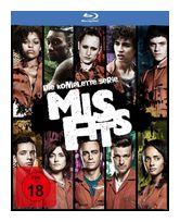 Misfits - Die komplette Serie (Staffel 1-5) (BLU-RAY) für 59,99 Euro