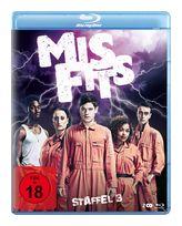 Misfits - Staffel 3 - 2 Disc Bluray (BLU-RAY) für 12,99 Euro