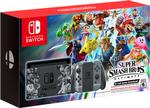 Nintendo Switch Super Smash Bros. Ultimate Edition Spielekonsole für 389,00 Euro
