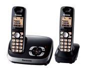 Panasonic KX-TG 6522 GB Schnurlostelefon mit Anrufbeantworter für 49,99 Euro