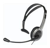 Panasonic RP-TCA430E-S Monoheadset Schnur-Clip flexibler Mikrofonarm für 19,99 Euro