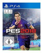 PES 2018: Pro Evolution Soccer (PlayStation 4) für 34,99 Euro