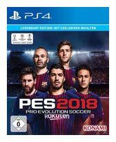 PES 2018: Pro Evolution Soccer - Legendary Edition (PlayStation 4) für 62,99 Euro