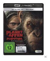 Planet der Affen: Survival (4K Ultra HD BLU-RAY) für 28,99 Euro