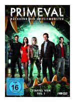 Primeval - Staffel 4.1 Rückkehr der Urzeitmonster (DVD) für 9,99 Euro