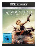 Resident Evil: The Final Chapter (4K Ultra HD BLU-RAY + BLU-RAY) für 22,99 Euro