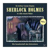 Sherlock Holmes - Die neuen Fälle 02: Die Gesellschaft des Schreckens (CD(s)) für 12,99 Euro