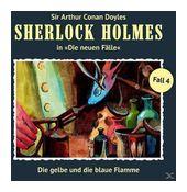 Sherlock Holmes - Die neuen Fälle 04: Die gelbe und die blaue Flamme (CD(s)) für 9,99 Euro