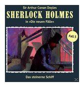 Sherlock Holmes - Die neuen Fälle 05: Das steinerne Schiff (CD(s)) für 9,99 Euro