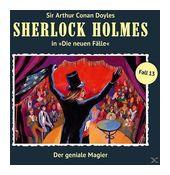 Sherlock Holmes - Die neuen Fälle 13: Der geniale Magier (CD(s)) für 9,99 Euro