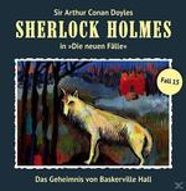 Sherlock Holmes - Die neuen Fälle 15: Das Geheimnis von Baskerville Hall (CD(s)) für 9,99 Euro