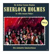 Sherlock Holmes: Die siebzehn Salutschüsse (CD(s)) für 9,99 Euro