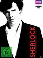 Sherlock - Staffel 1-3 (DVD) für 51,99 Euro