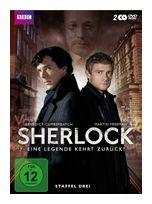 Sherlock - Staffel 3 - 2 Disc DVD (DVD) für 19,99 Euro