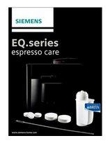 Siemens TZ80004 Pflegeset geeignet für alle Kaffeevollautomaten der EQ Reihe für 28,99 Euro