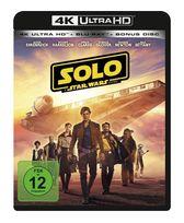 Solo - A Star Wars Story (4K Ultra HD BLU-RAY + BLU-RAY) für 33,99 Euro