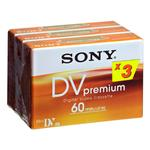 Sony DVM-60 Colormix 3er-Pack Mini DV Video-Kassette 60min für 8,99 Euro