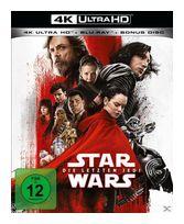 Star Wars: Die letzten Jedi (4K Ultra HD BLU-RAY + BLU-RAY) für 33,99 Euro