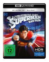 Superman - 2 Disc Bluray (4K Ultra HD BLU-RAY + BLU-RAY) für 26,99 Euro