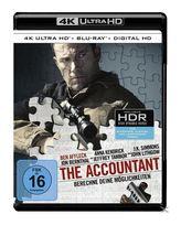 The Accountant (4K Ultra HD BLU-RAY + BLU-RAY) für 24,99 Euro