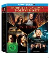The Da Vinci Code - Sakrileg, Illuminati, Inferno Bluray Box (BLU-RAY) für 34,99 Euro