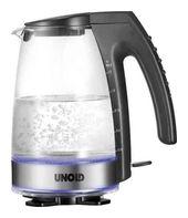Unold 18590 Wasserkocher 2300W 1,2l SCHOTT-DURAN-Glasbehälter für 49,99 Euro