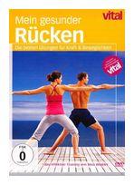 vital - Mein gesunder Rücken - die besten Übungen für Kraft & Beweglichkeit (DVD) für 12,99 Euro