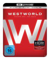 Westworld - Staffel 1: Das Labyrinth Limited Edition (4K Ultra HD BLU-RAY + BLU-RAY) für 28,99 Euro