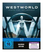 Westworld - Staffel 1: Das Labyrinth Bluray Box (BLU-RAY) für 24,99 Euro