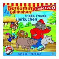 Benjamin Blümchen: Liederzoo - Friede, Freude, Eierkuchen (CD(s)) für 5,49 Euro