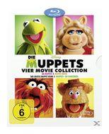 Die Muppets - 4 Movie Collection Bluray Box (BLU-RAY) für 21,00 Euro