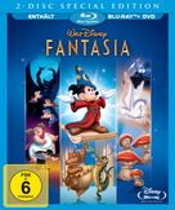 Fantasia Special 2-Disc Edition (BLU-RAY + DVD) für 27,99 Euro