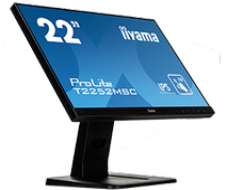 iiyama ProLite T2252MSC-B1 Full HD Monitor 54,6 cm (21.5 Zoll) B 7 ms für 239,00 Euro