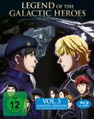 Legend of the Galactic Heroes: Die Neue These Vol. 3 Limited Edition (BLU-RAY) für 29,99 Euro